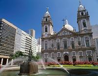 ブラジル リオデジャネイロ カンデラリア教会