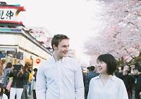 日本人と外国人カップル