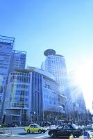大阪府 大阪駅周辺のビル街