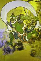 京都府  京都市 建仁寺の風神雷神図 風神 (レプリカ)