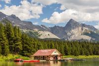 カナダ マリーン湖