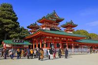 京都府 平安神宮 正月