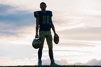 アメリカンフットボール選手