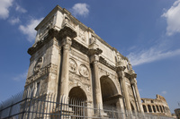 イタリア ローマ コンスタンティヌス帝の凱旋門