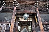 奈良県 長谷寺 仁王門と登廊