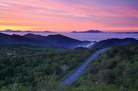 北海道 国後島と知床横断道路