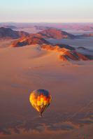 ナミビア 熱気球