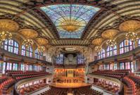 バルセロナ カタルーニャ音楽堂