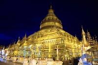 ミャンマー シュエズィーゴン・パコダ