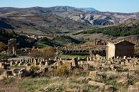 アルジェリア ジェミラ遺跡