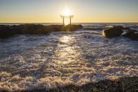 茨城県 大洗海岸の日の出