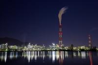 福岡県 北九州の工場夜景