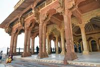 インド アンベール城 一般謁見の間
