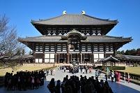 奈良県 東大寺の金堂(大仏殿)