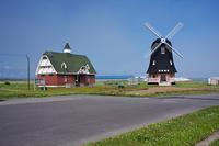 北海道 風雪の塔と農業資料館