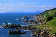 青森県 須郷岬 日本海