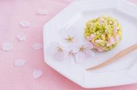 桜と春の和菓子