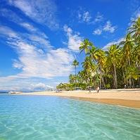 コスタリカ ビーチリゾートの海