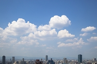 大阪府 白い雲