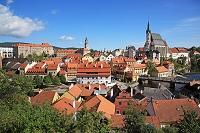 チェコ チェスキー・クルムロフ 歴史地区