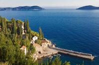 クロアチア ドゥブロヴニク付近 トルステノの海岸
