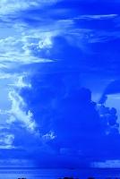 ミクロネシア チューク 南の島のイメージ スコール