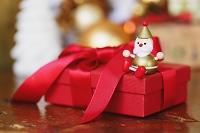 クリスマスギフトとサンタクロース