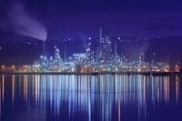 北海道 室蘭の工場夜景