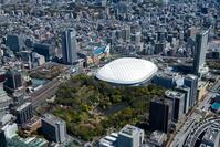 小石川後楽園と東京ドーム周辺