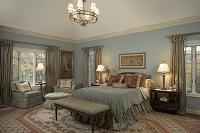 ヨーロピアン調の主寝室