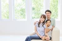 仲の良い日本人家族