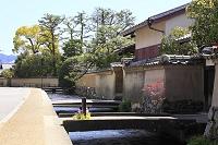 京都府 上賀茂の社家町と明神川