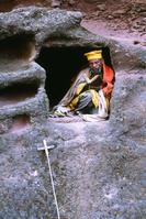 エチオピア ラリベラ 僧