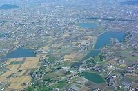 香川県高松市 点在する溜め池