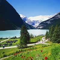 カナダ ルイーズ湖