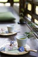 夏の和菓子とお茶