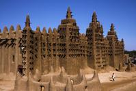 マリ共和国 ジェンネの大モスク