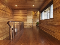 木材のインテリア