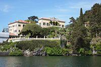 イタリア ロンバルディア  コモ湖