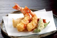 米粉で揚げた天ぷら