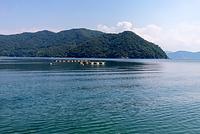 常神海水浴場から望む三方海域公園