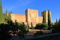 グラナダ アルハンブラ宮殿 アルカサバ