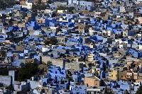 青い町 ジョードプル