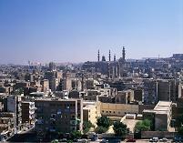 エジプト カイロ イスラム地区 街並み
