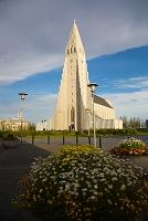 アイスランド レイキャビークの教会