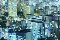 東京都 ビル街の夜景