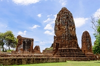 タイ アユタヤ ワット・マハタート 遺跡群