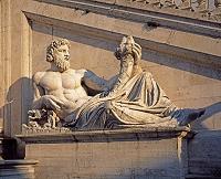 イタリア ローマ 彫刻