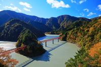 静岡県 大井川鉄道井川線 奥大井レインボーブリッジ