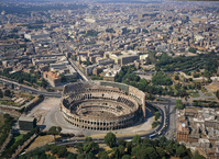 イタリア ローマ コロッセオ周辺